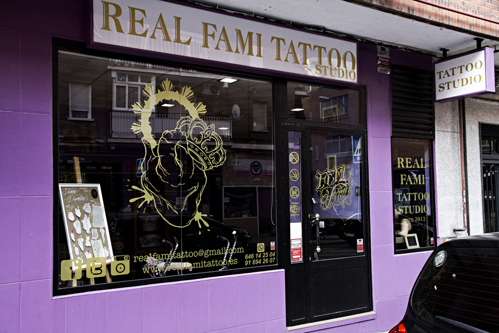 Exterior de Real Fami Tattoo Studio