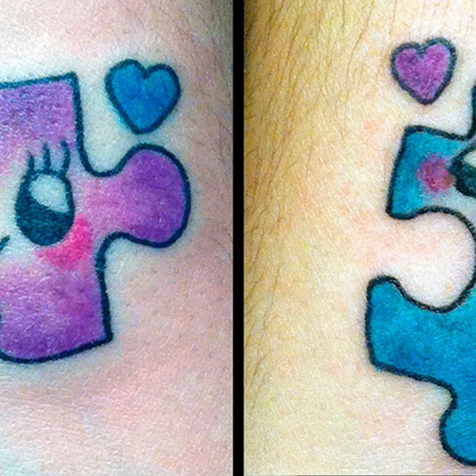 Tattoo Puzzle por Tania Cristino