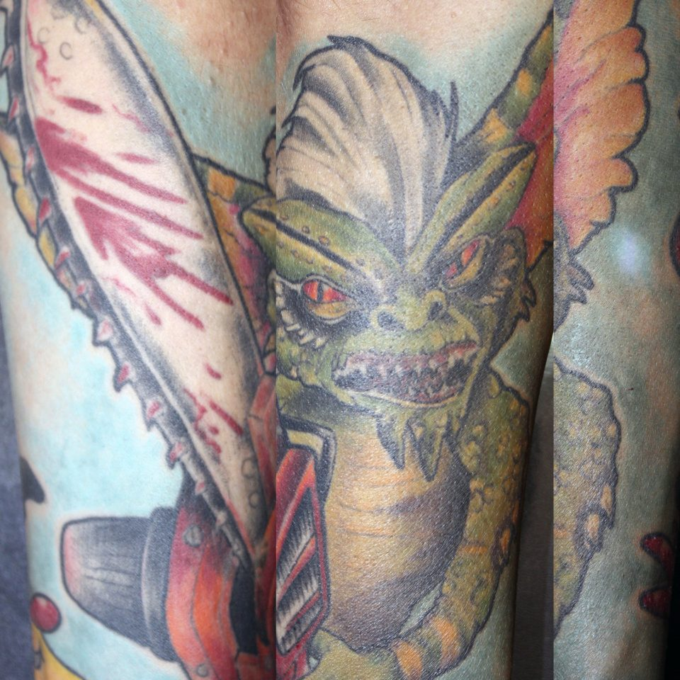 Tattoo Gremlin en color