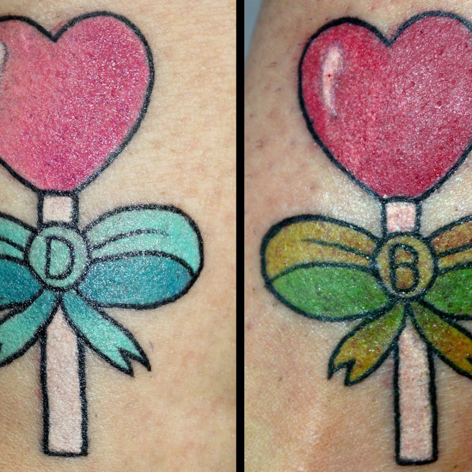 Tattoo piruletas color