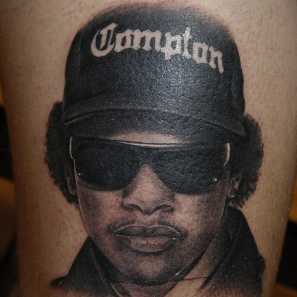Tattoo realismo Eazy-e